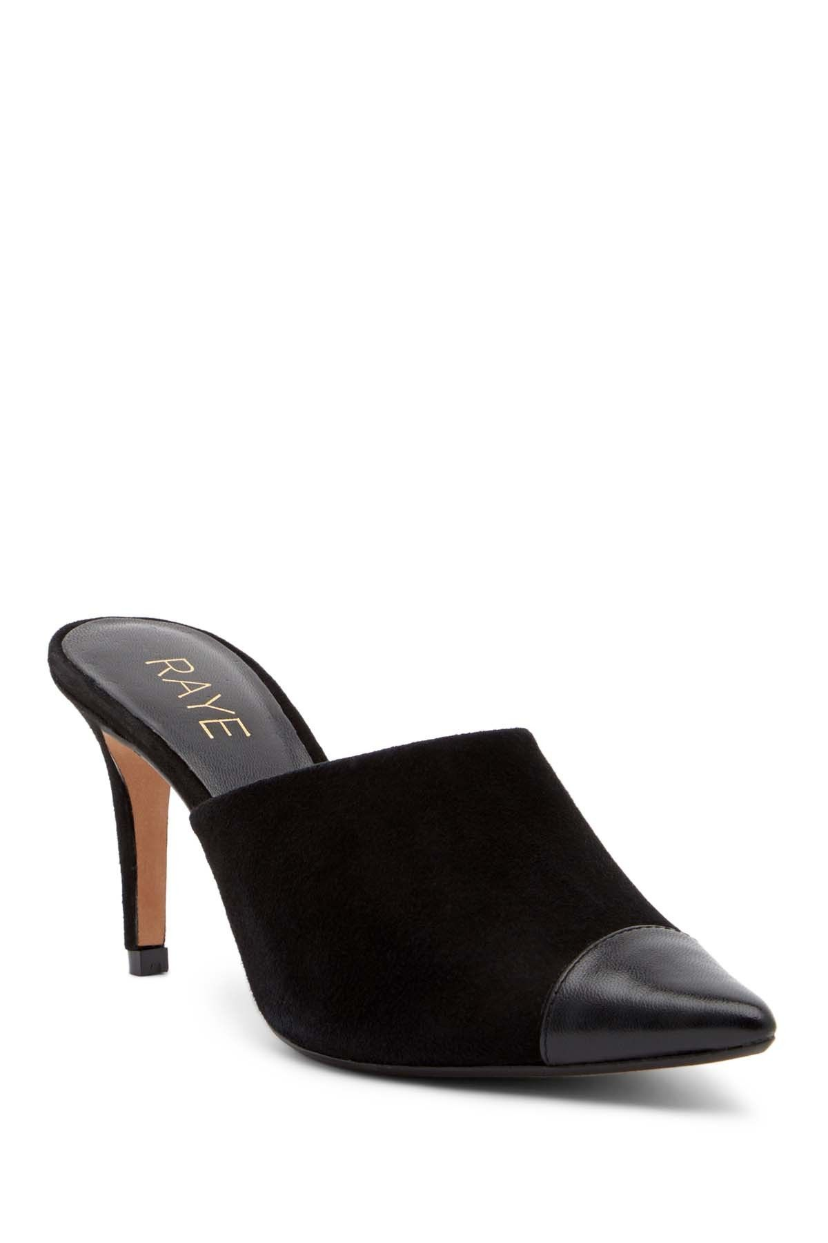 67cc08690ca Raye Phoebe Leather Mule