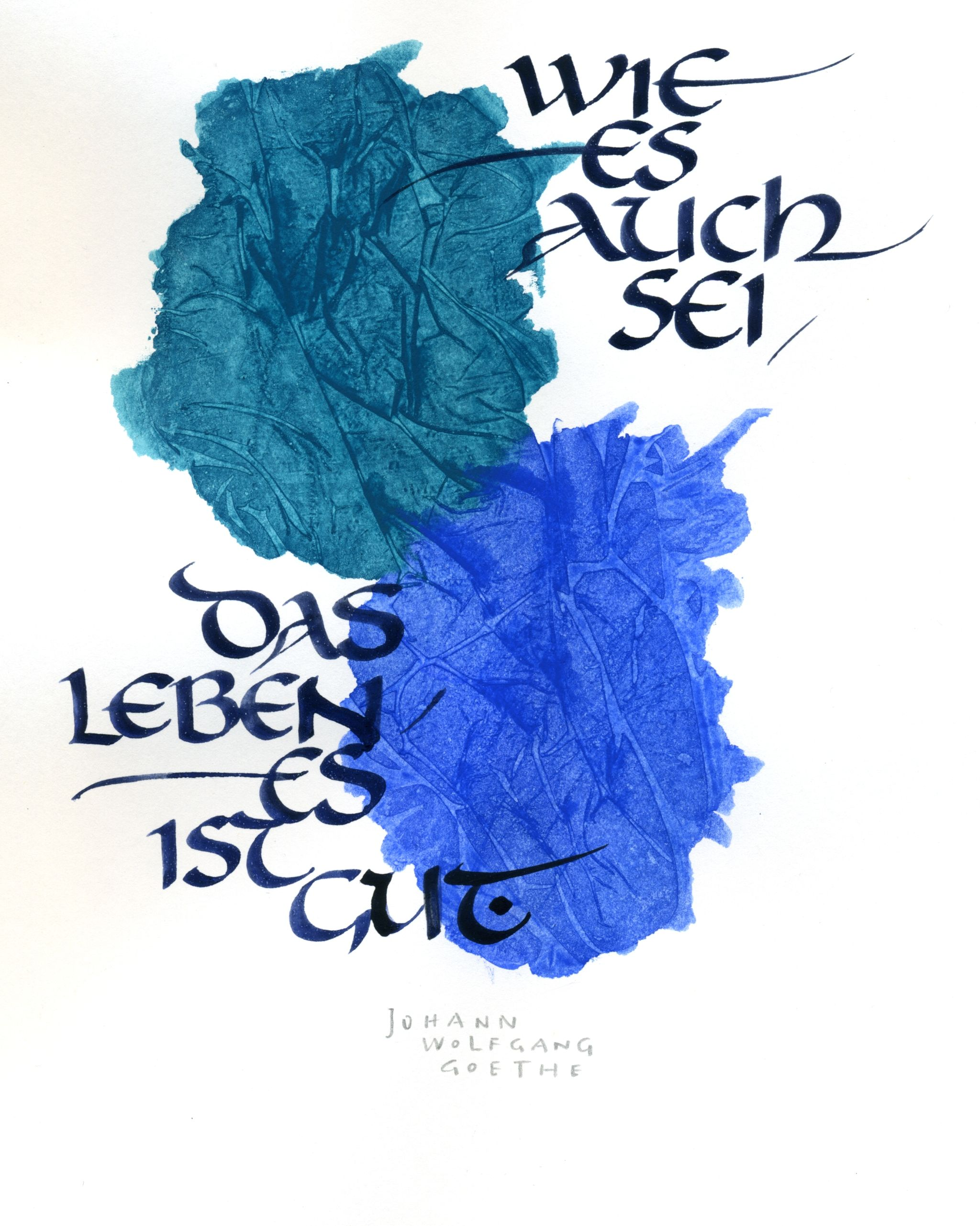 Schöne Handschrift Lernen From My Workshop Quotcalligraphy And Aquarell Quot Own