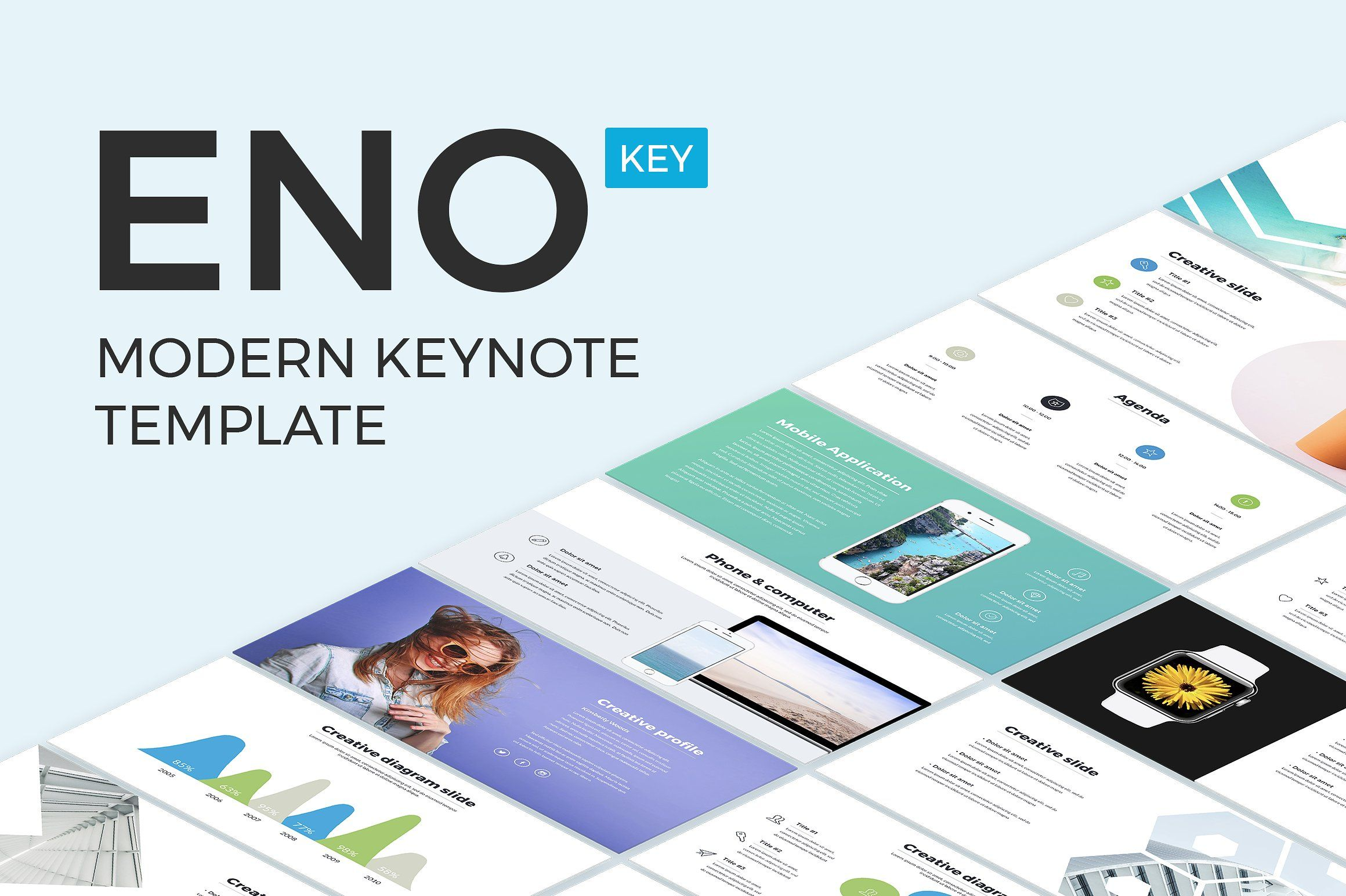 Eno Keynote Template Presentation Design Template