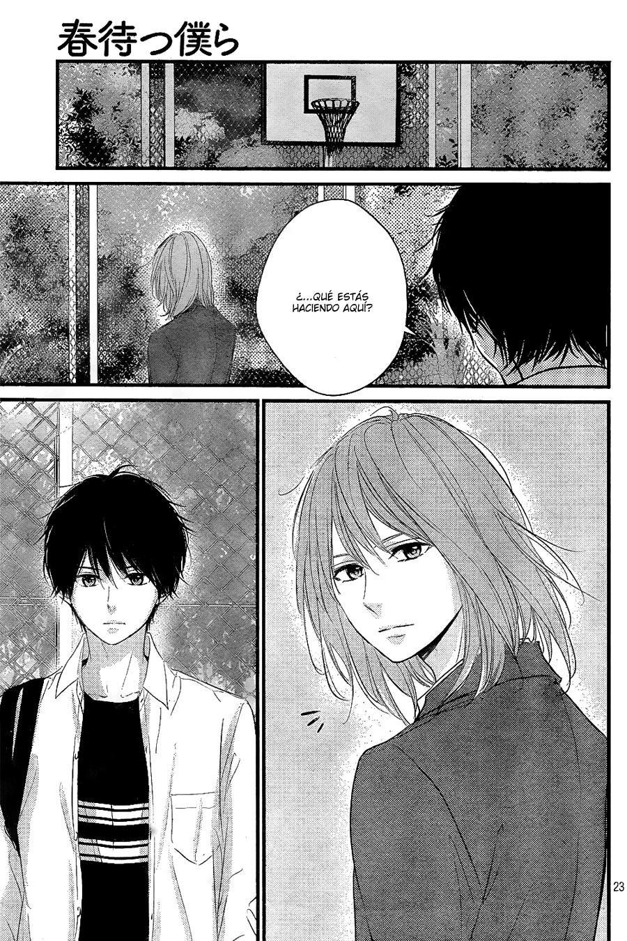Haru Matsu Bokura Capítulo 8 página 24 - Leer Manga en Español gratis en NineManga.com