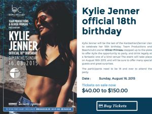Kylie Jenner To Celebrate Her Th Birthday With Montreal Bash And