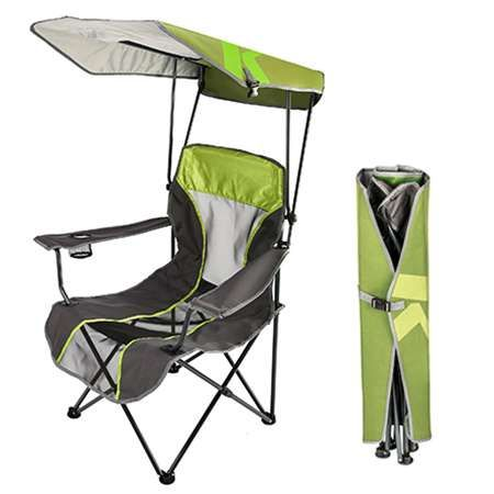 The Kelsyus Canopy Chair folds up for easy carrying and storage. #Kelsyus  sc 1 st  Pinterest & The Kelsyus Canopy Chair folds up for easy carrying and storage ...