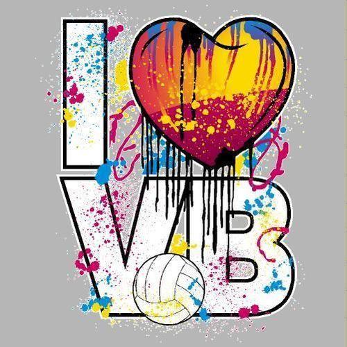 I Love Volleyball Paint Splatter | Volleyball! | Pinterest ... I Love Volleyball Wallpaper