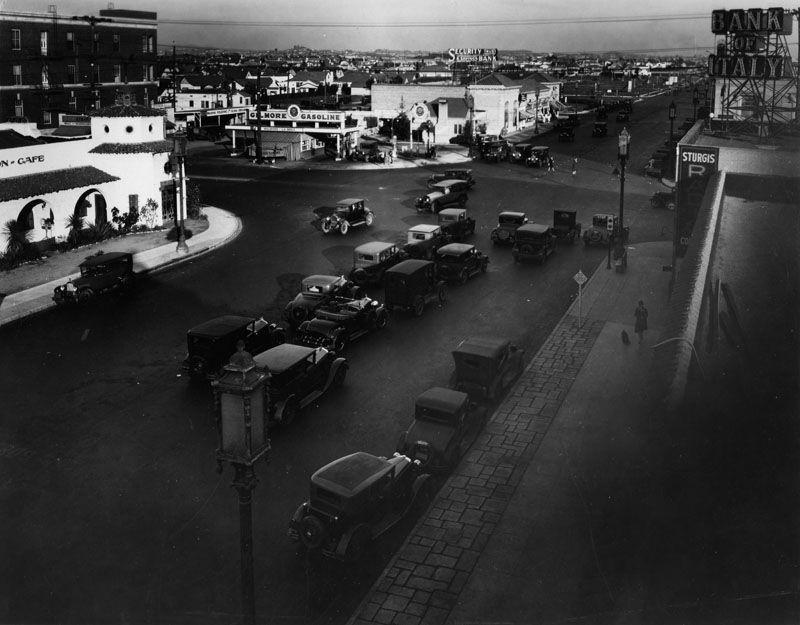 Water And Power Associates Street Scenes Vintage Los Angeles Miracle Mile