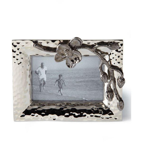 Michael Aram Black Orchid Mini Frame (€40) ❤ liked on Polyvore ...