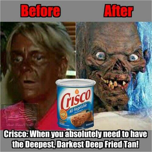 Crisco Tan Crisco Tan Deep Fried