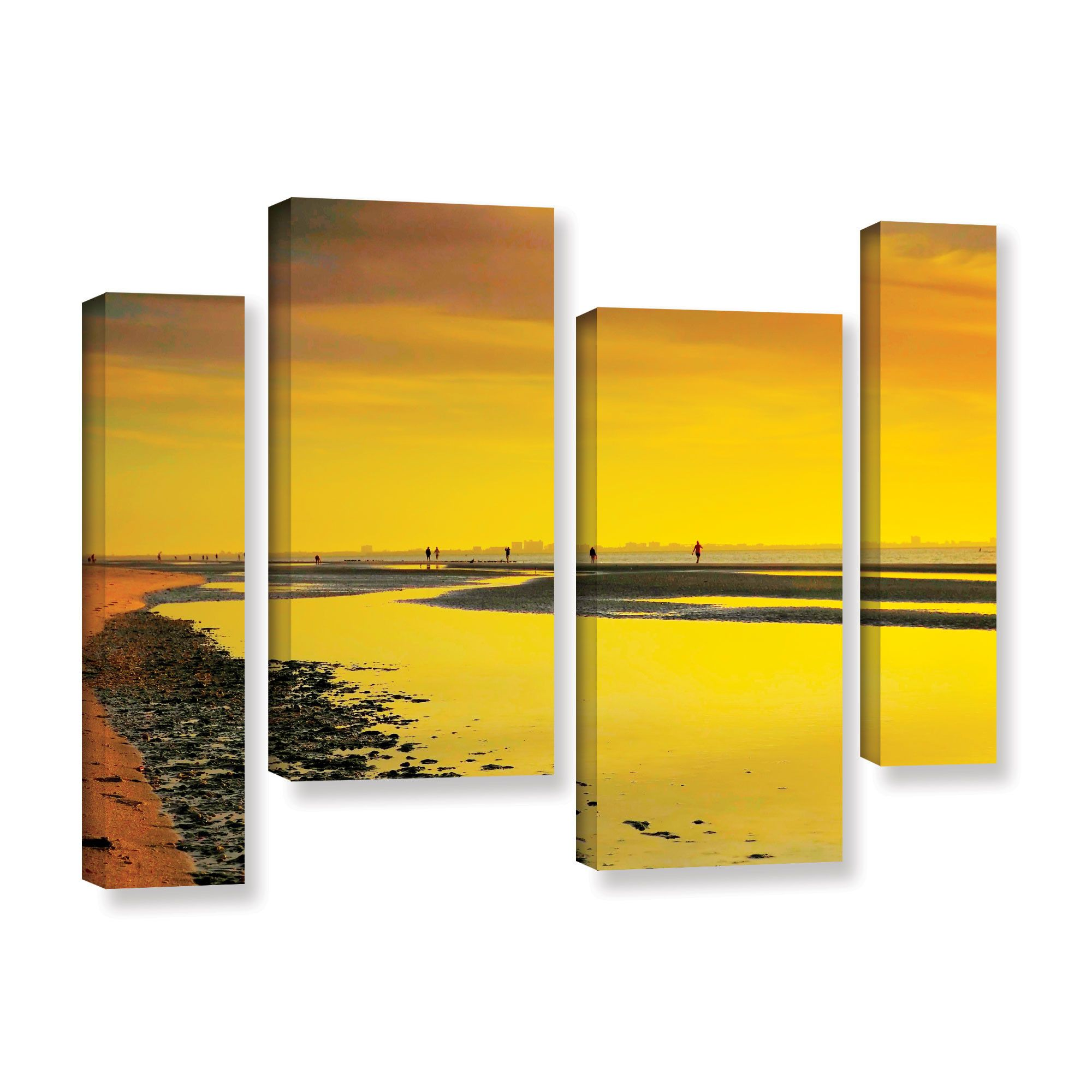 Mellow Yellow Morning by Steve Ainsworth 4 Piece Photographic Print ...
