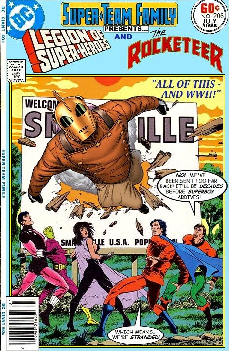Super-Team Family: The Lost Issues!: Legion of Super-Heroes and The Rocketeer