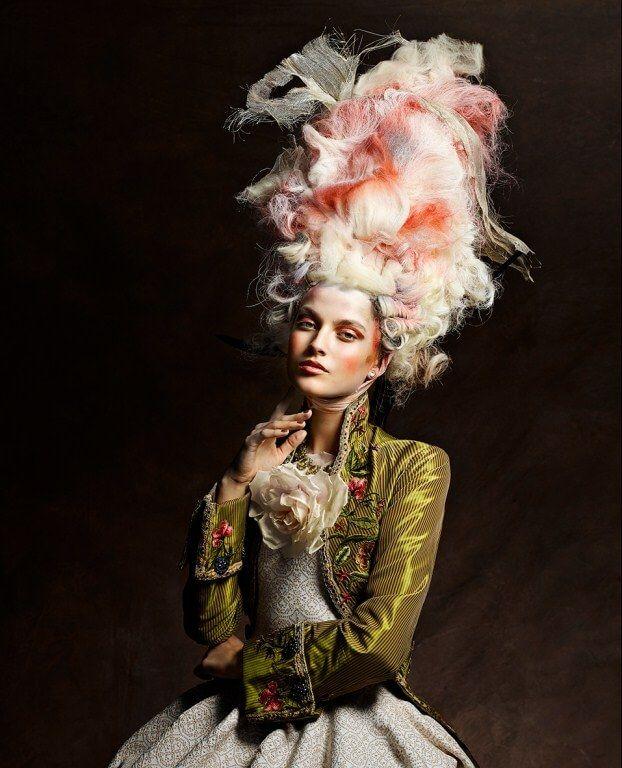Мария-Антуанетта прически авангард photographer Vincent Alvarez Marie-Antoinette