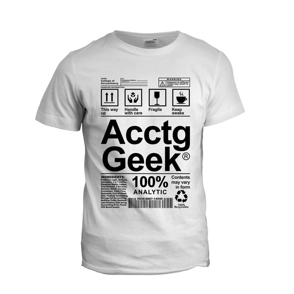 Accounting Geek Accounting shirts, Geek stuff, Accounting