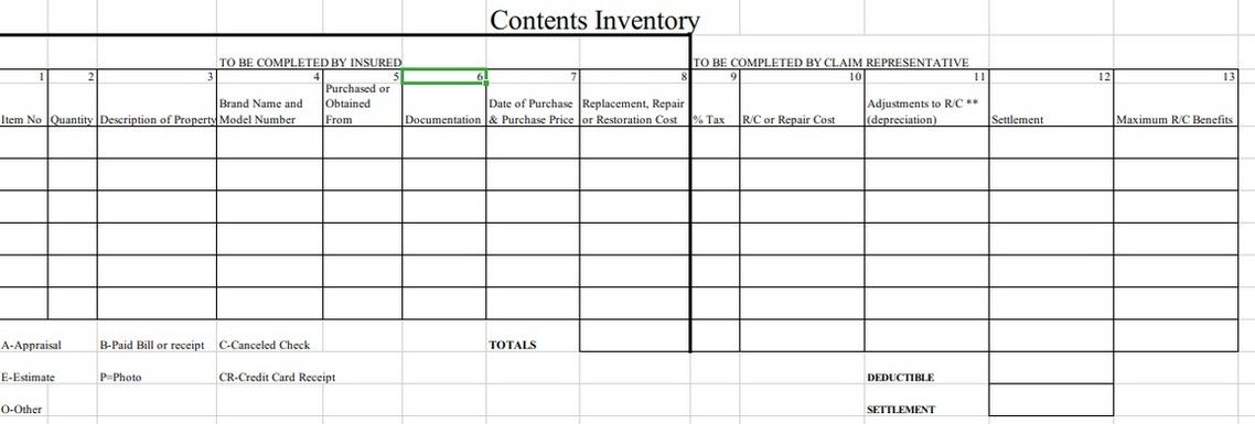 Printable Content Inventory Template Templates Content Excel Templates
