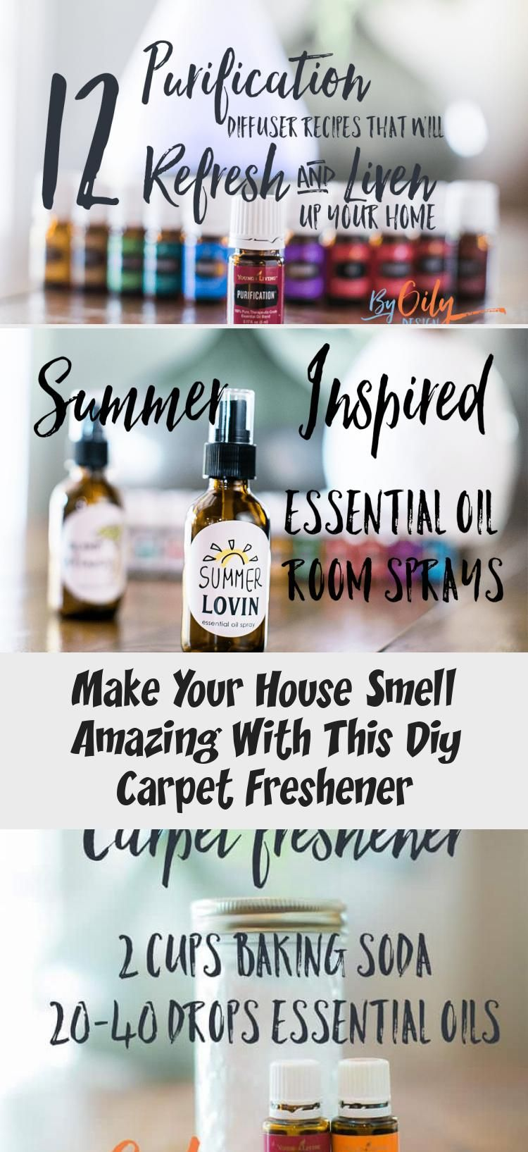 Neutralize House Smells With This Diy Carpet Deodorizer Using Baking Soda And Essential Oils Create A Si Carpet Freshener Diy Carpet Essential Oils Room Spray