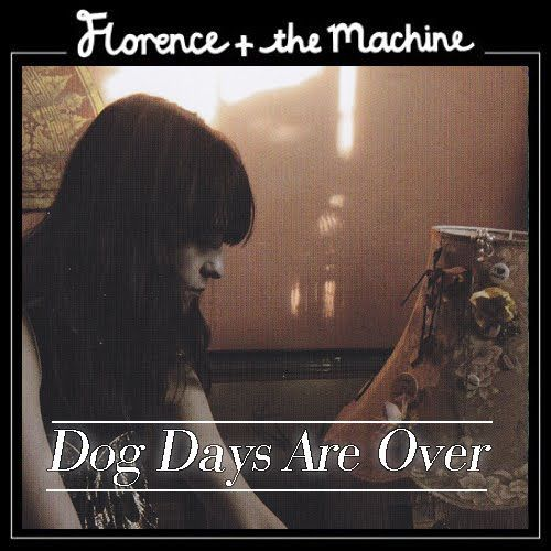 Florence + the Machine – Dog Days Are Over (single cover art)