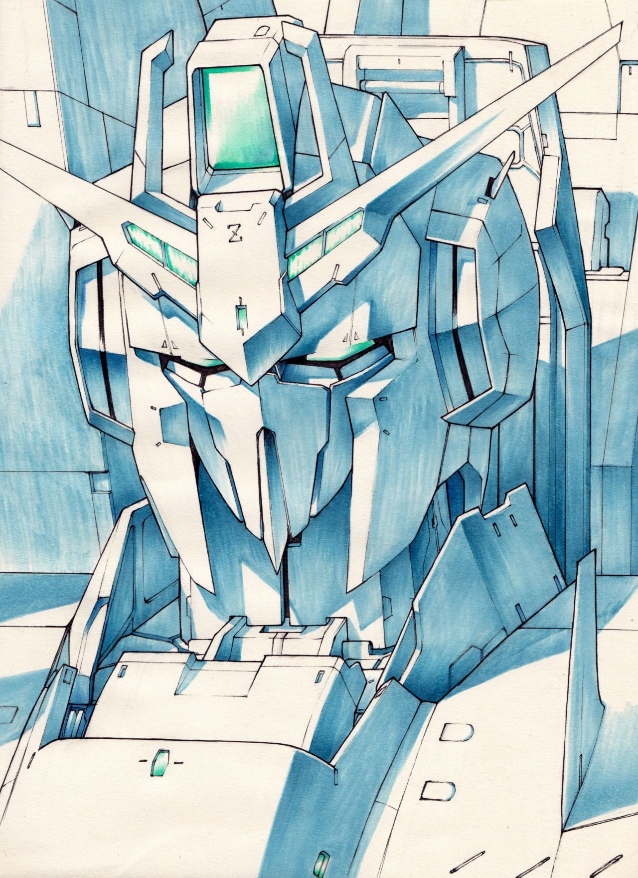 Z GUNDAM (VerDefine.) Drawing