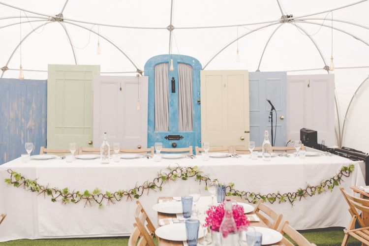 Quirky Rustic Distressed Doors u0026 A Vintage Piano DIY Wedding in a Dome Marquee | Whimsical Wonderland Weddings & Quirky Rustic Distressed Doors u0026 A Vintage Piano DIY Wedding in a ...