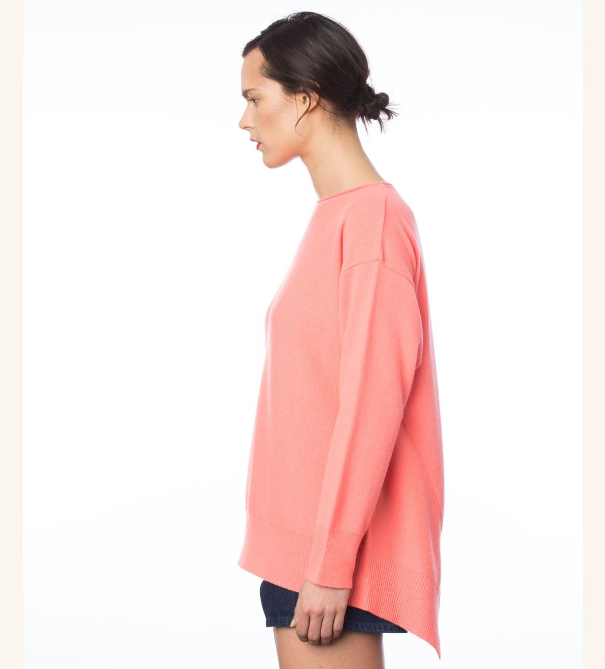 Cashmere sweater AMOR colour marker pink from MURIÉE.com - SHOP ...