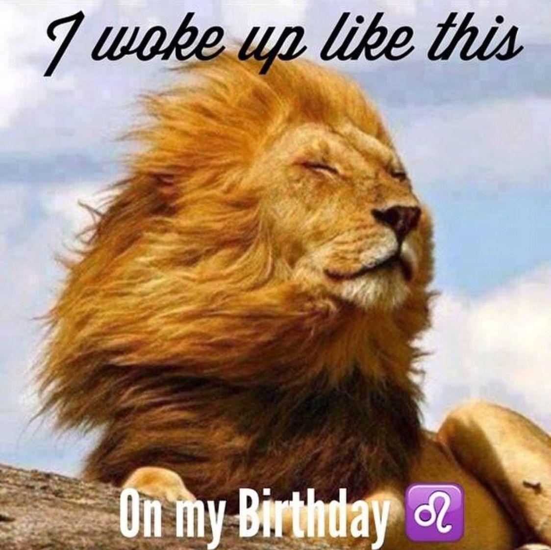 Leo Season Birthday Meme