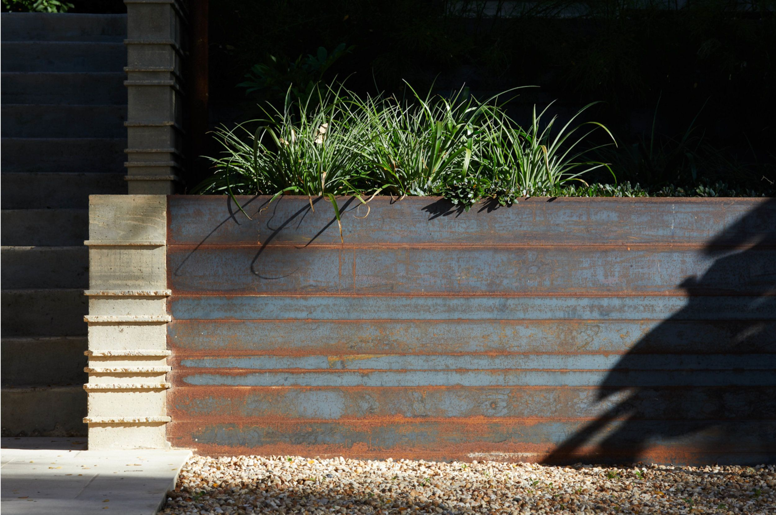 Inspiration For The Dark Stained Board Form Concrete Though We Wouldn T Do Two Toned Stain Boar Viking House Board Formed Concrete Concrete Retaining Walls