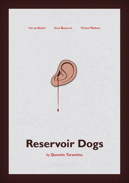 Minimalist Movie Posters Reservoir Dogs