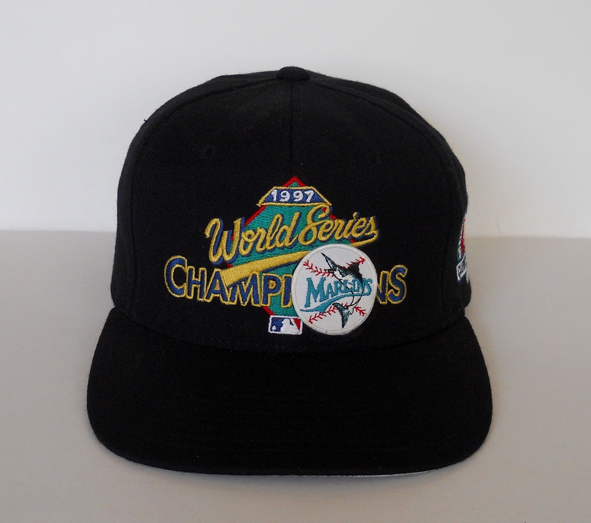 8c66c19c2 ... uk vintage florida marlins new era 1997 world series champions  clubhouse snapback pre owned 2e2a4 87f1b