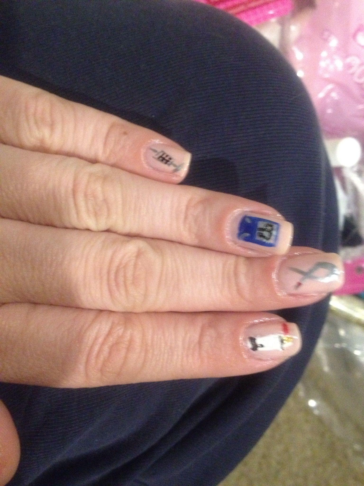 Diabetes Nail Art Part 1 | Nails By Jen | Pinterest | Diabetes