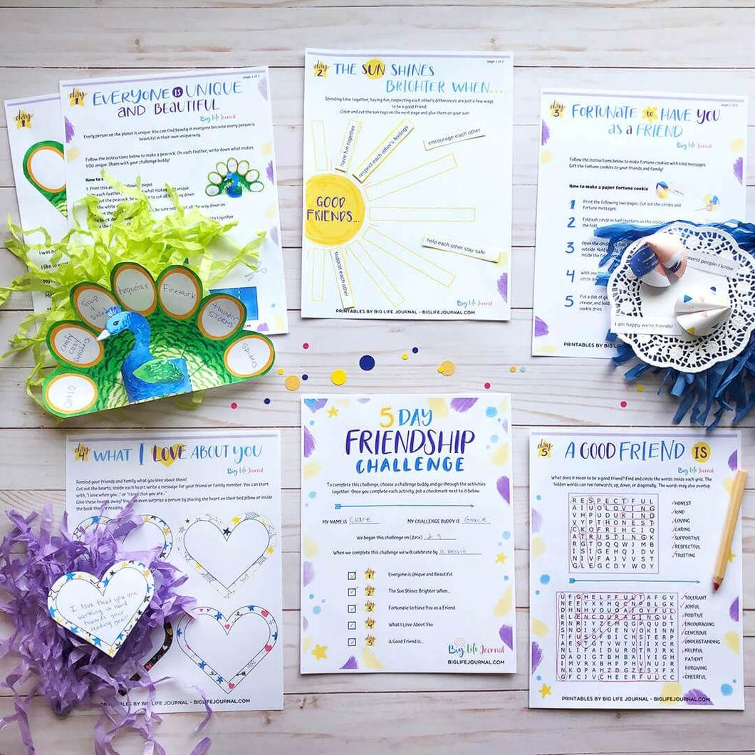 Challenges Kit Pdf Ages 5 12 Multisensory Activities Helping Kids Love Challenge
