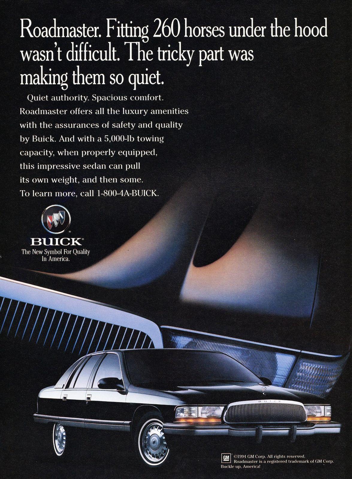 1995 buick roadmaster sedan buick roadmaster buick automobile advertising pinterest