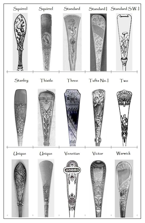 Some 19th Century Flatware Patterns Flatware Patterns Antique Flatware Vintage Spoon Jewelry