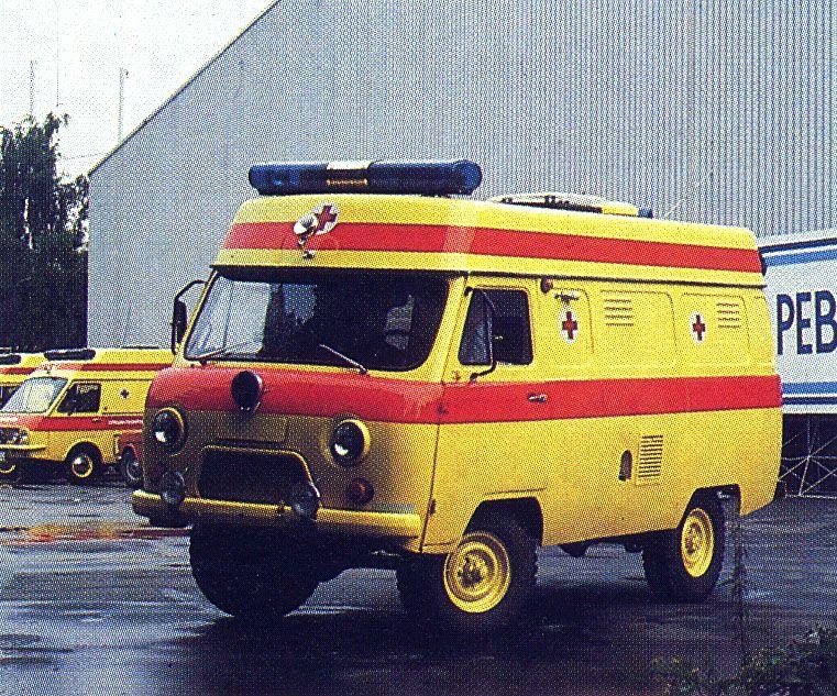 УАЗ-Tamro (УАЗ-452, УАЗ-санитарка)