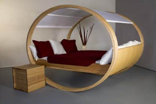 Oval Bed Frame Rocking Bed Design I Want It! Ok Maybe I Donu0027t But It Sure  Is A Beautiful And Unusual Design! | House: Cool Home Ideas! | Pinterest |  Bed Deu2026