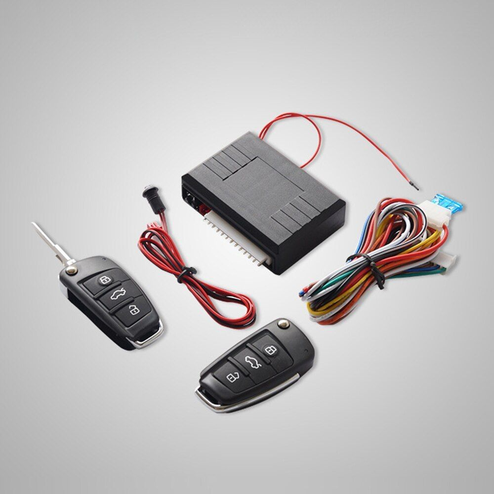 Universal Car Auto Keyless Entry System Button Start Stop Led