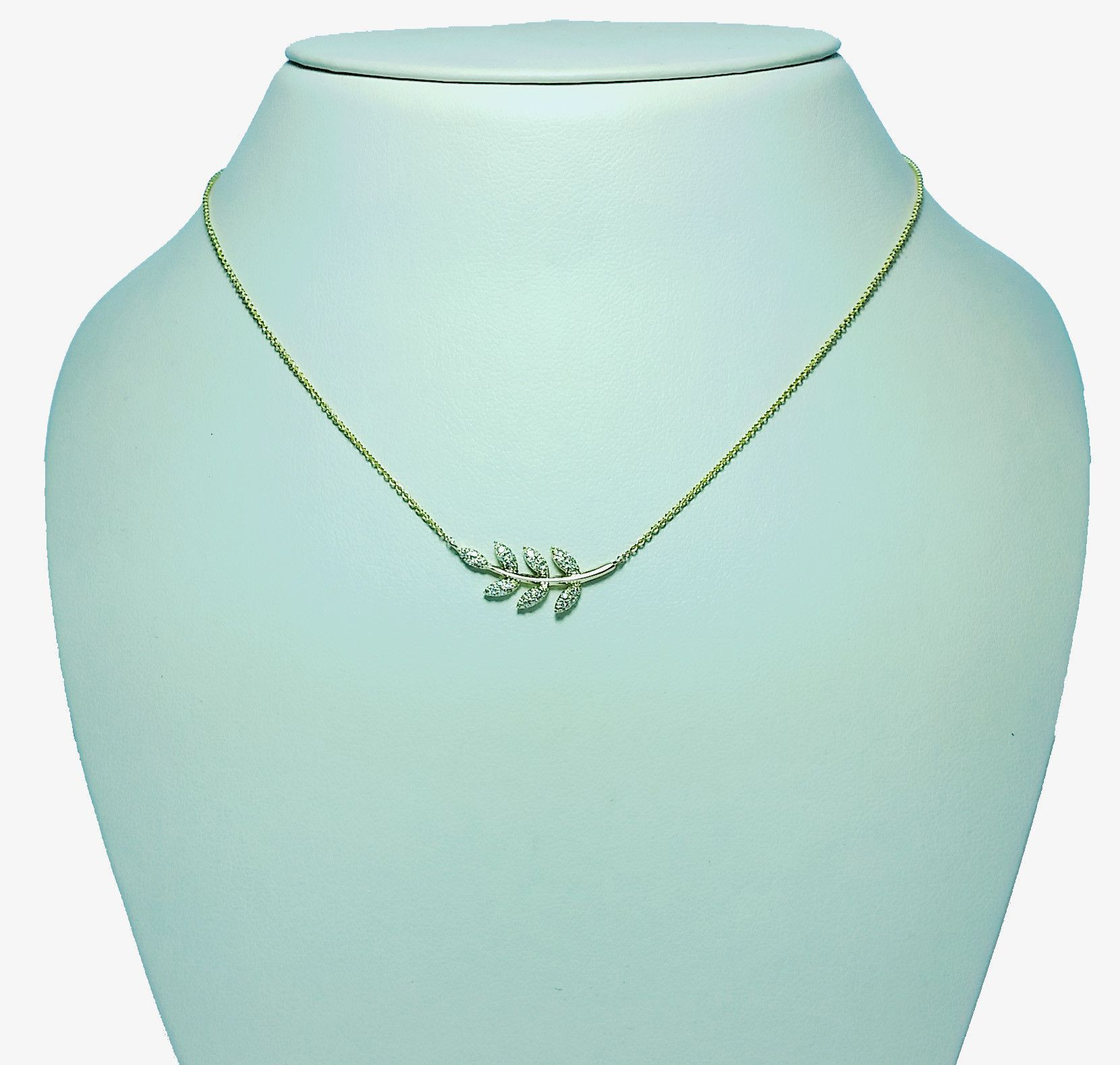 Single diamond leaf necklace jewelry u watches pinterest