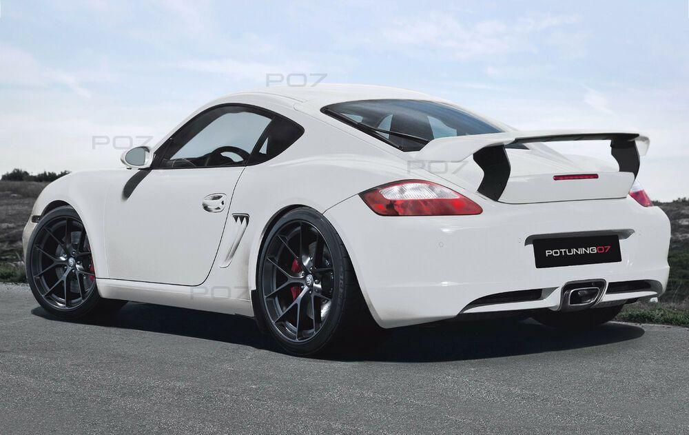 Porsche Cayman 987 GT Heckspoiler, Boot Spoiler , Trunk Spoiler  LOOK #mercedesamg