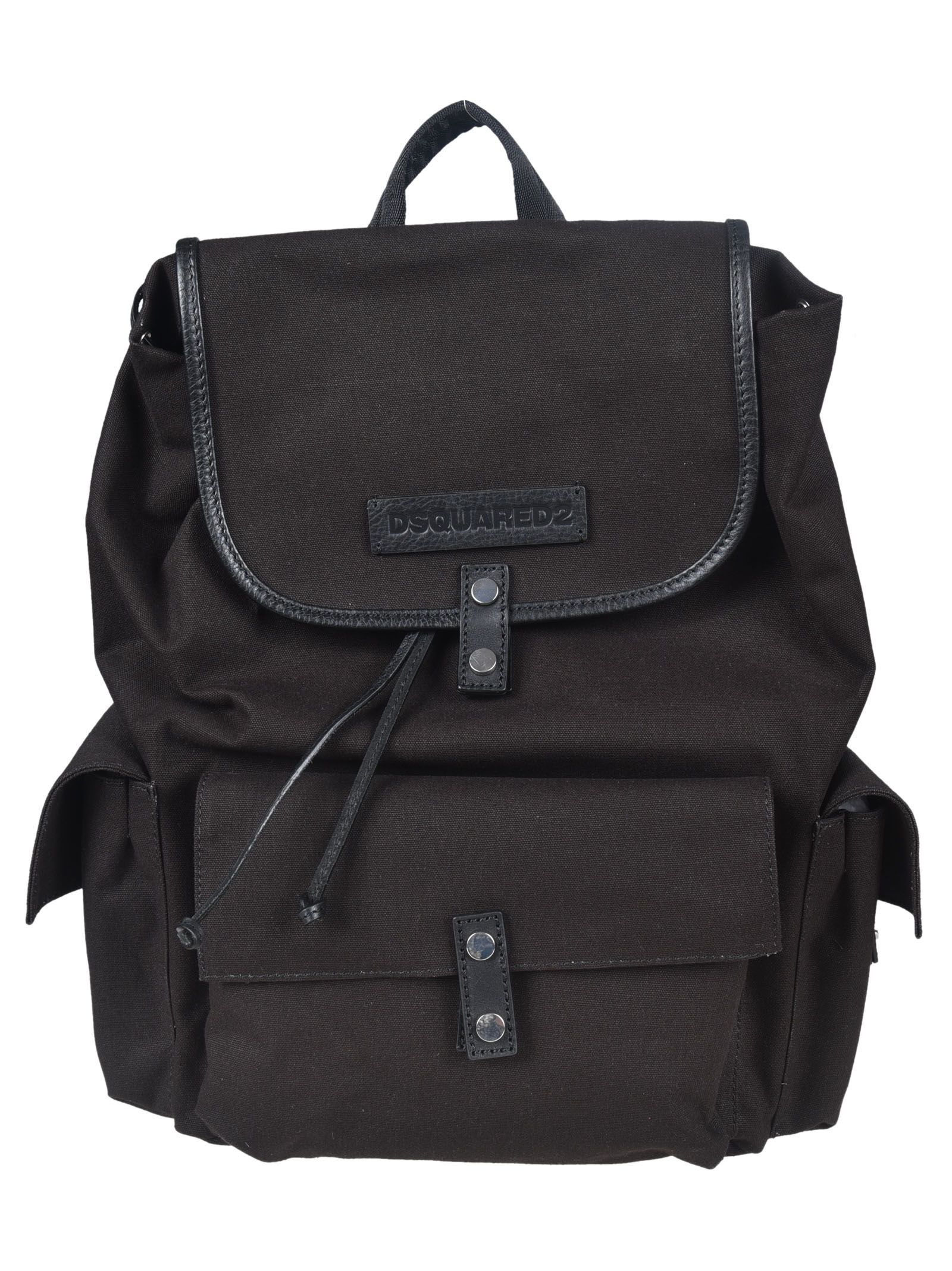 2883eebb56 DSQUARED2 MILITARY BACKPACK.  dsquared2  bags  leather  backpacks  cotton