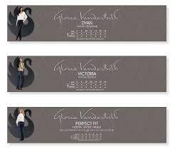 Gloria vanderbilt size chart in store signage cait pace s portfolio