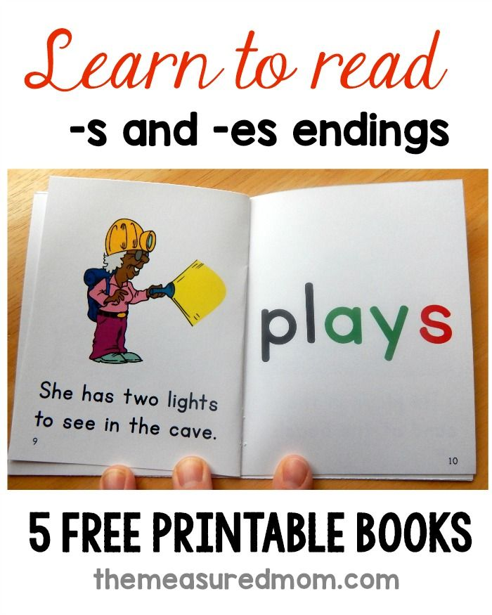 Books For Words With S And Es The Measured Mom Phonics Books Phonics Free Phonics Reading