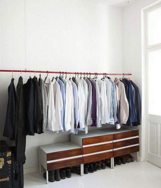 Schrank ohne Schrank (mit Bildern) | Schlafzimmer ...