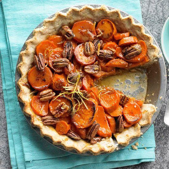 Candied Sweet Potato Pie