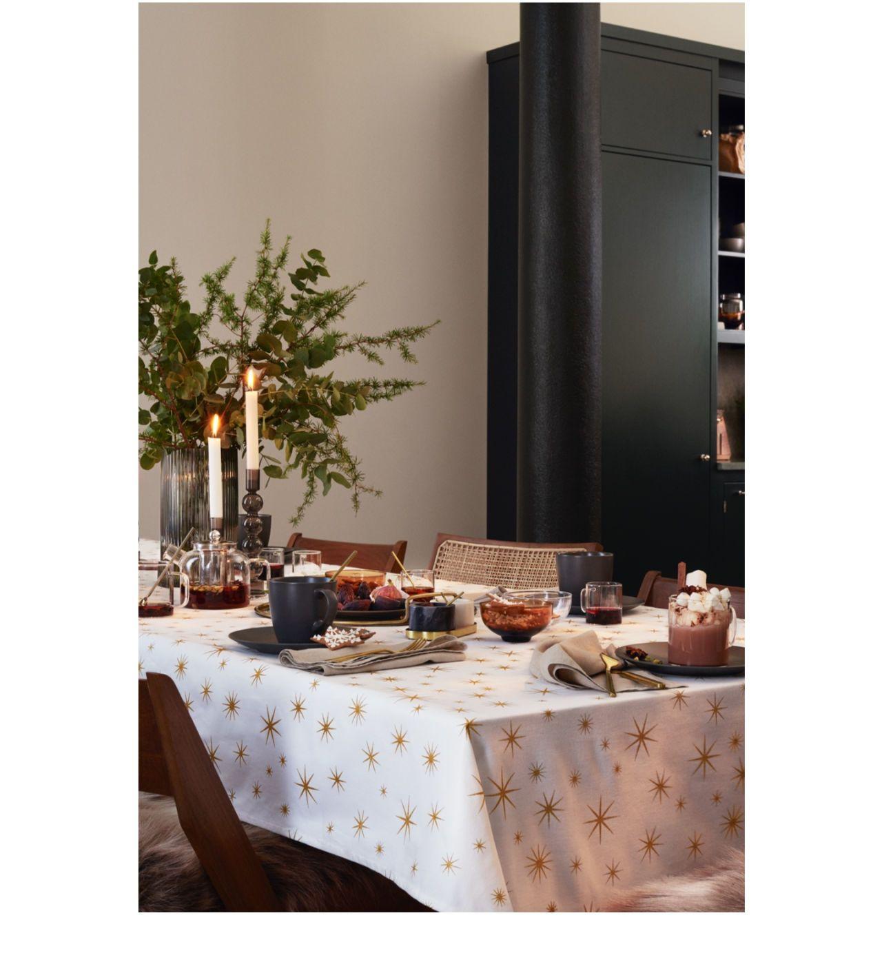 Warm Minimalism H M Home Winter Table Christmas Decor Diy