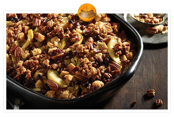Rustic Multi-Grain Stuffing with Nuts & Dried Fruit