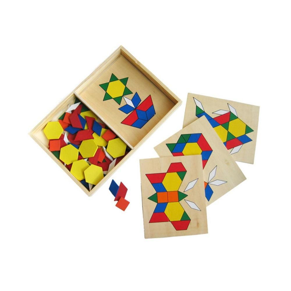 Wooden Pattern Blocks Pattern Blocks Wooden Pattern Card Patterns
