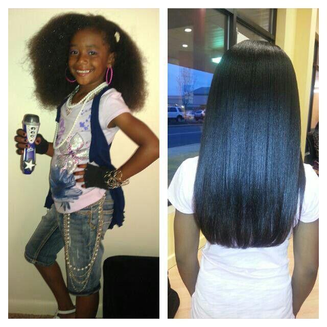 Flat iron #lovely #blessed I love thick hair | Kids hair | Pinterest ...
