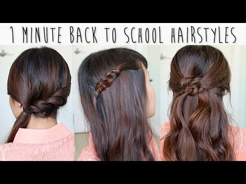 10 Back To School Hairstyles In Under 10 Minutes Back To School
