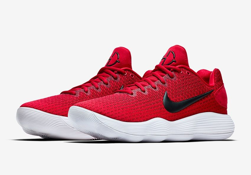 216c8b1c3a36 Nike Hyperdunk 2017 Low Team Red White