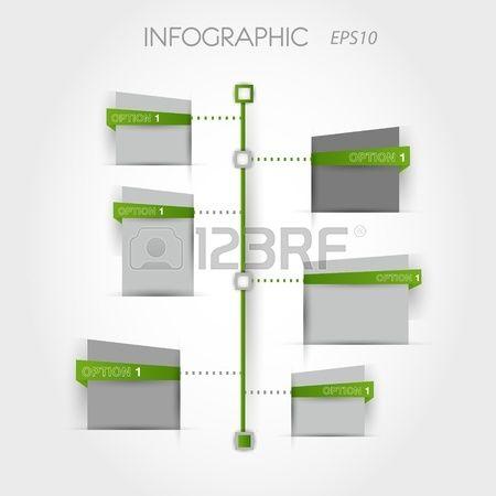 verde cronograma quadrado conceito infogr fico  Banco de Imagens