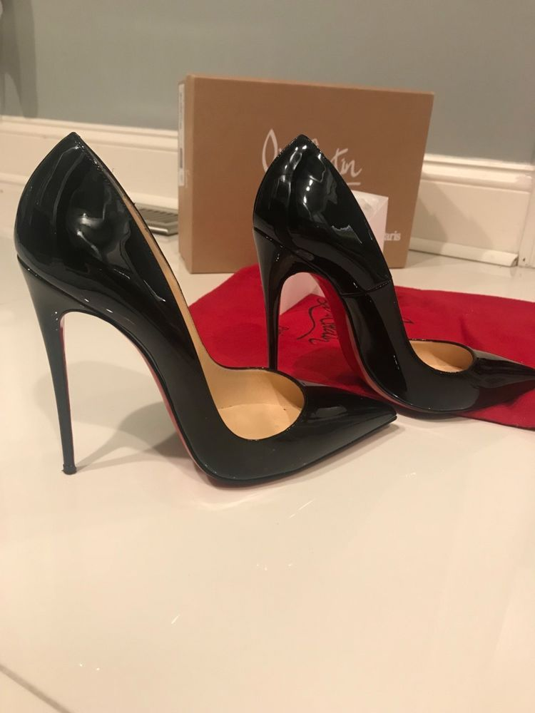 90c97c19969 Christian Louboutin So Kate 38.5 Black Patent Leather #fashion ...