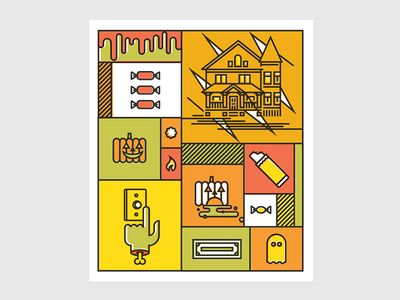 Halloween Sticker - John Choura Jr.