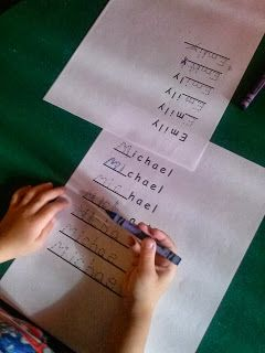Homeschooling Preschool I Like This Idea So Simple