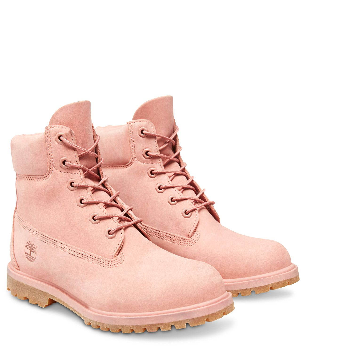 timberland femme rose poudré