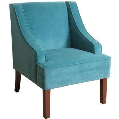 HomePop Swoop Arm Chair & Reviews   Wayfair